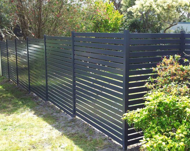 slat fence panels